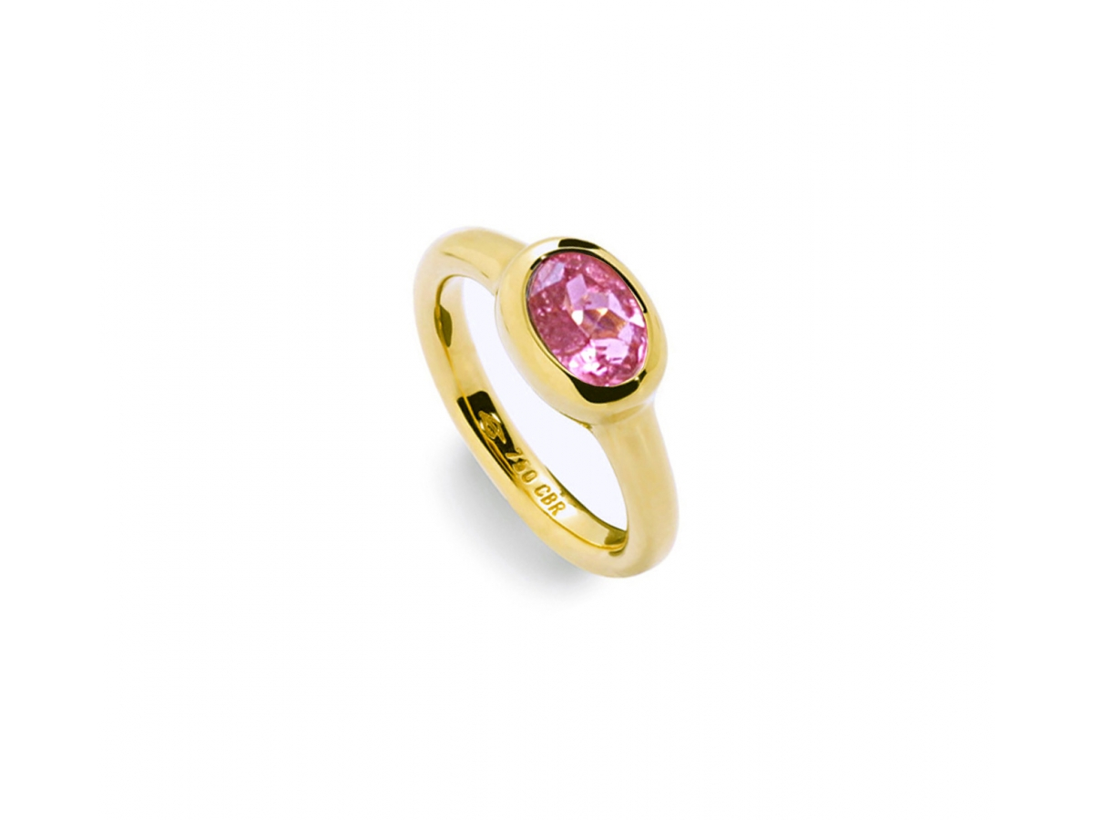 Ring 18 Karat Gelbgold 8,1 g, Turmalin 1,35 ct